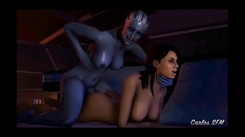 Mass Effect - Ashley Williams - Full Compilation GIF