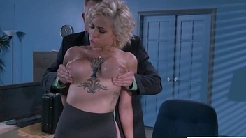 (Harlow Harrison) Super Sexy Office Girl Busy In Hard  Sex Act video-21