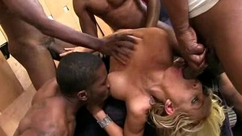 Beautiful girl fucked hard by chunky black dick 1