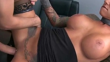 Big Titted Babe Gets Fucked Hard in the Office 11