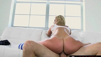 Chafe Butt Kelsi Monroe Taking Lucky Dude to Booty Heaven