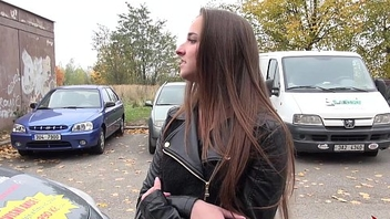Takevan Endless party for young petite party latitudinarian with big ass fucked in van