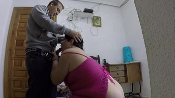 This fat woman gets fucked from behind. CRI
