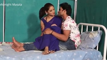 Hindi Lady doctor Shruti bhabhi romance respecting for fear of the fact boy in blue saree hot scene